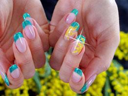 Nail art 8 marzo festa della donna