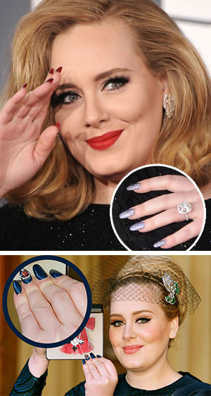 Nail Art Adele