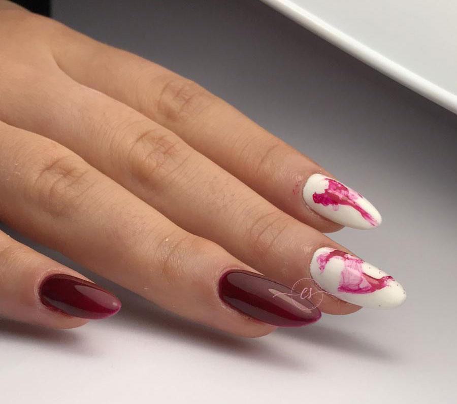 effetto marmo rosso