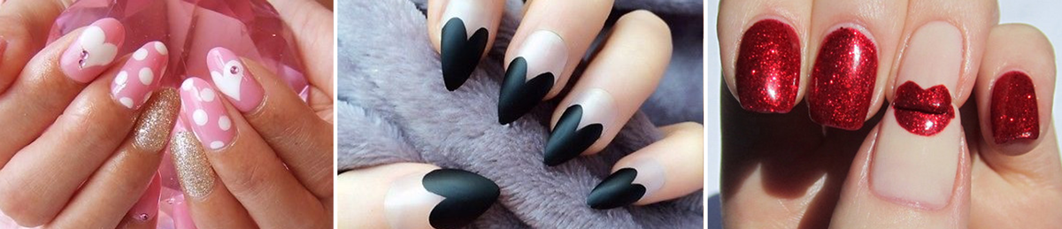 Idee nail art per san valentino