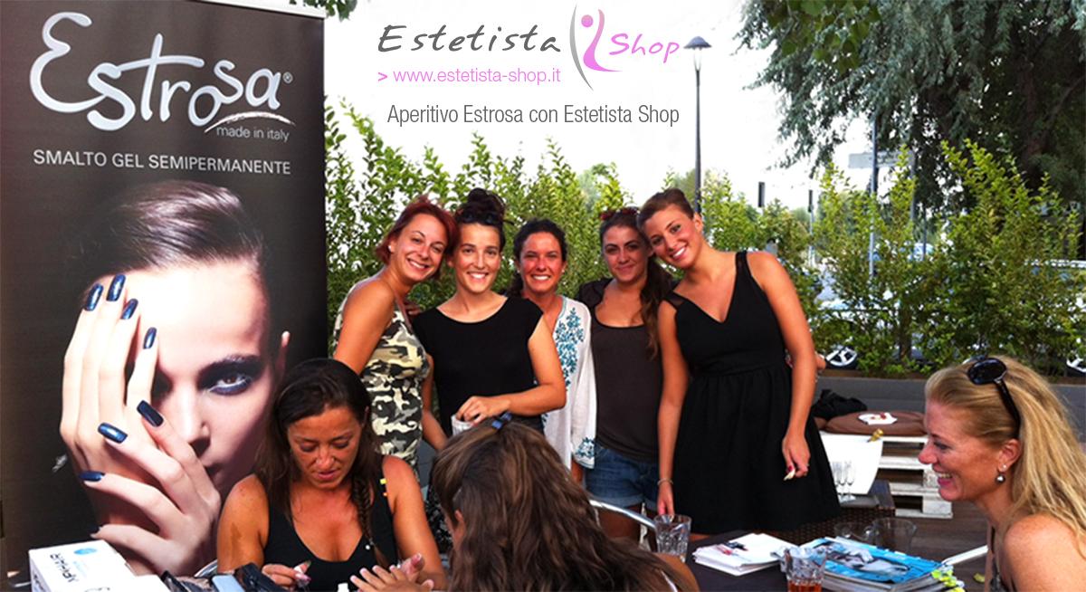 Evento Estrosa con Estetista Shop