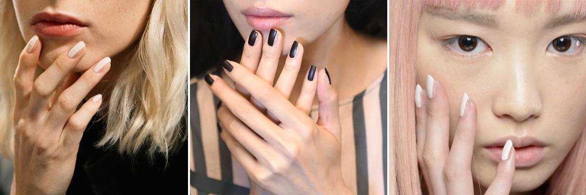 nail contouring esempi