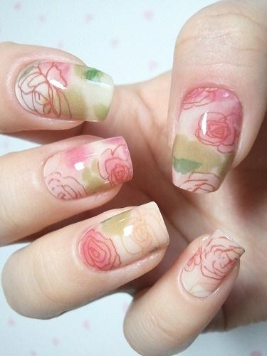 Nail Art Floreali
